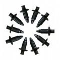 Drucknieten Verkleidungsschrauben Spreizschrauben Lochgöße 6,0 mm