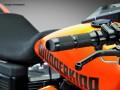 Wunderkind Lenkergriffe Hemisphere für Harley Davidson 1 Zoll 2 Gaszüge