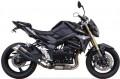 IXIL Auspuff Hyperlow black XL Edelstahl Endtopf Suzuki GSR 750 2011-15
