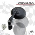 Universal Lenkerendenspiegel NOVARA 2 mit Lenkergewicht ALU für 7/8