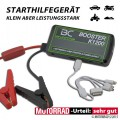Mobiles Starthilfe Gerät Booster BC K1200 400A LiFePO4-Technologie 1.200 mAh