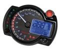 KOSO digitales Multifunktions-Cockpit RX 2N mit 6 Kontrollleuchten