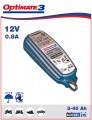 Batterieladegerät und Pflegegerät OPTIMATE 3 TM-430 0,8A bis 50AH wasserdicht und frostsicher