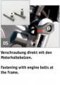 LSL Sturzpad Befestigungskit KTM DUKE 200 2012-2015