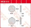 TRW Lucas Bremsbelag MCB513 Organic Allround