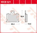 TRW Lucas Bremsbelag MCB521 Organic Allround