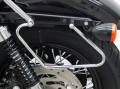 FEHLING® Packtaschenhalter für HARLEY DAVIDSON Sportster Evo ab Bj. 2004- Custom Roadster/Low Nightster/Iron Forty-Eight