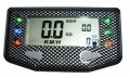 Acewell Motorrad & ATV Tachometer ACE-257 Carbon Optik 6 Kontrollleuchten für Zugmaschinen optimiert