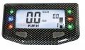 Acewell Motorrad Tachometer ACE-254 Carbon Optik 6 Kontrollleuchten