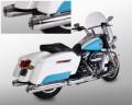 Harley Davidson Auspuffanlage AIRLINGTON Touring Modelle FL3 114 CUI - Euro 4