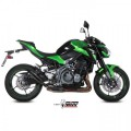 MIVV AUSPUFF OUBLE GUN FULL BLACK SLIP-ON KAWASAKI  Z900 17- Euro 4