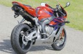 BODIS OVAL Q1 Auspuff Edelstahl / Titan SCHWARZ Honda CBR 1000 RR 04-07