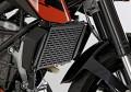 Protech Kühlergrillabdeckung schwarz KTM 125 200 DUKE