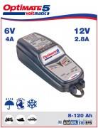 Batterieladegerät und Pflegegerät OPTIMATE 5 6V/12V TM222 4A/2,8A bis 120Ah/192AH