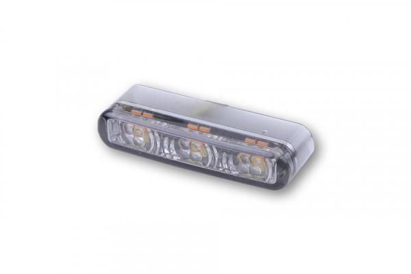 LED Einbau Blinker SHORTY 2 PRO getöntes Glas