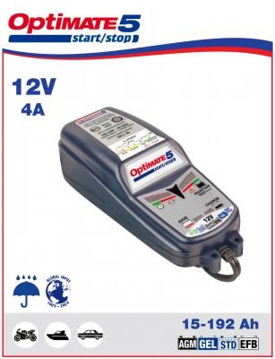 Batterieladegerät und Pflegegerät OPTIMATE 5  12V TM220-4A 6A bis 192AH