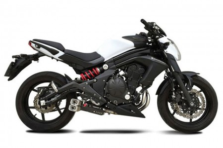 ixrace z8 auspuff kawasaki er 6 f n versys 650. Black Bedroom Furniture Sets. Home Design Ideas