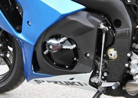 Color : Front Black Motorradschutz Fallen Motorrad-Rad-Schutz-Auflage for SUZUKI GSXR1000 GSXR1000 GSXR 1000 2009-2015 vorne Hinterachse Gabel Absturz Sliders